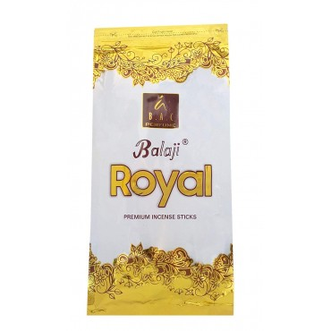 Agarbatti | Balaji Royal Incense Stick (120gm) Zipper Pack