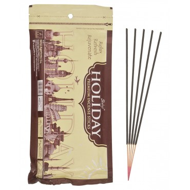 Agarbatti | Balaji Holiday - Premium Incense Sticks (130gms) Zipper Pack