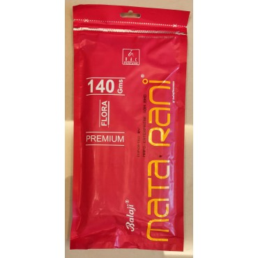 Agarbatti | Balaji Mata Rani Incense Stick (140gms) Zipper Pack