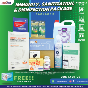 Immunity, Sanitization & Disinfection Package B
