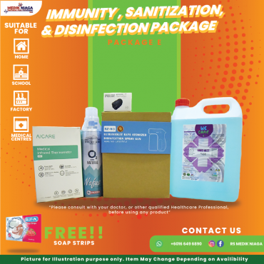 Immunity, Sanitization & Disinfection Package