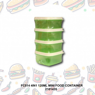 4IN1 120ML MINI FOOD CONTAINER