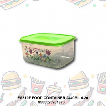 FOOD CONTAINER 2440ML